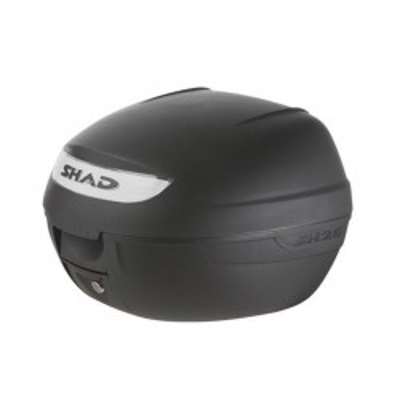 Μπαγκαζιέρα  μοτοσυκλέτας SHAD μαύρη διάφανο κρύσταλλο 26 LT