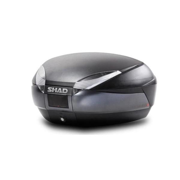 Μπαγκαζιέρα μοτοσυκλέτας SHAD SH48 Γκρι/Μαύρο 48 LT