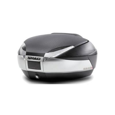 Μπαγκαζιέρα μοτοσυκλέτας με μαξιλαράκι SHAD Carbon 48 LT