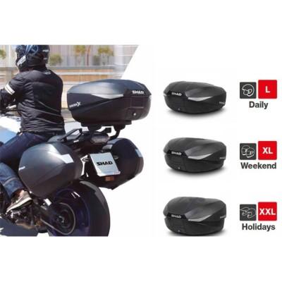 Μπαγκαζιέρα μοτοσυκλέτας EXPANDABLE SHAD Carbon 58 LT