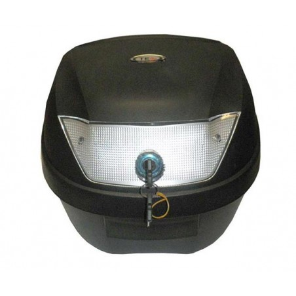 Μπαγκαζιέρα μοτοσυκλέτας TEC Μαύρη 28 LT
