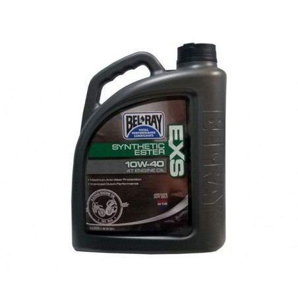 Λάδι BEL-RAY 99161 4T EXS/ESTER SYNTHETIC 100% 10W-40 4LT