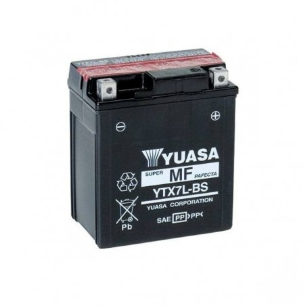 Μπαταριά YUASA YTX7L-BS