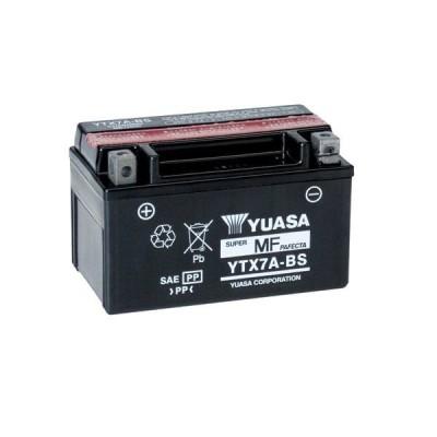 Μπαταρία με υγρά YUASA YTX7A-BS
