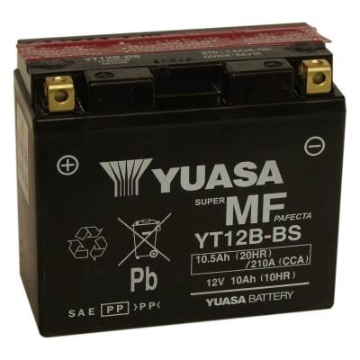 Μπαταριά με υγρά YUASA YT12B-BS