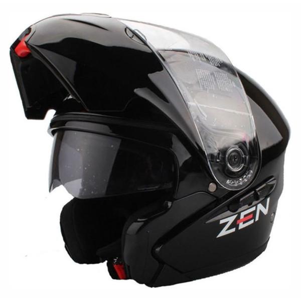 Κράνος μαύρο ZEN ZN-91