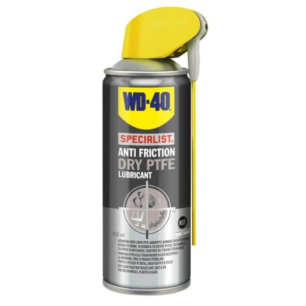 Αντισκουριακό ξηρού τύπου PTFE WD-40 400ML