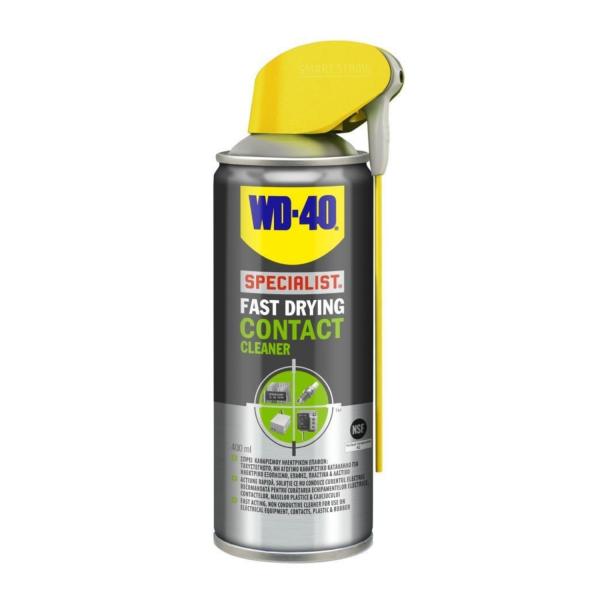 Σπρέι καθαρισμού ηλεκτρικών επαφών WD-40 400ml