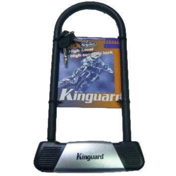 Κλειδαριά με πέταλο NONAME KINGUARD 1019 Μαύρο/Ασημί