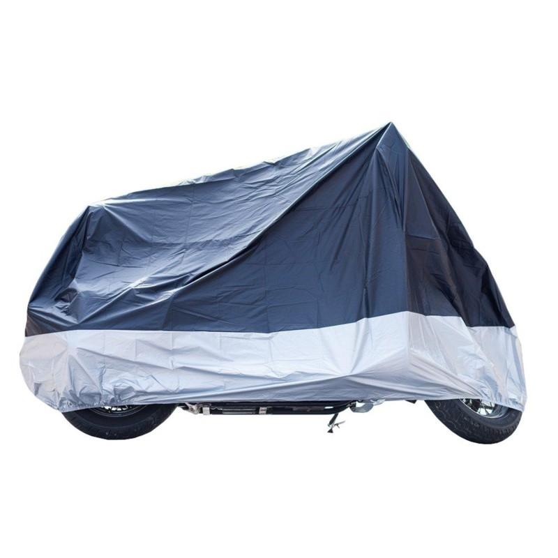 Κουκούλα Μοτοσυκλέτα XL αδιάβροχη Μπλε/Ασημί WINGER MC001