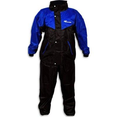 Αδιάβροχο σετ Μπλε με μαύρο XXL FALCON