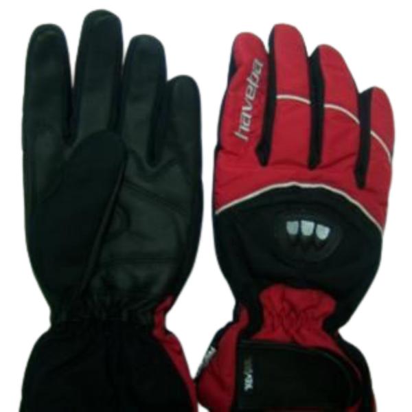 Γάντια1126 STEALTH Μαύρα/κόκκινά HAVEBA