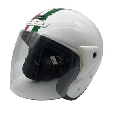 Κράνος 2XL Λευκό Ιταλικό ZEUS 506