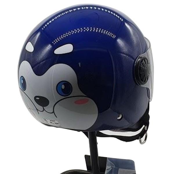 Κράνος παιδικό L Μπλε ZEUS ZS 228