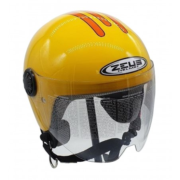 Κράνος παιδικό M Κίτρινο ZEUS ZS 228