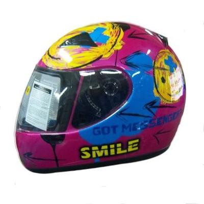 Κράνος παιδικό S Ροζ/Μπλε ZEUS 2000 F48