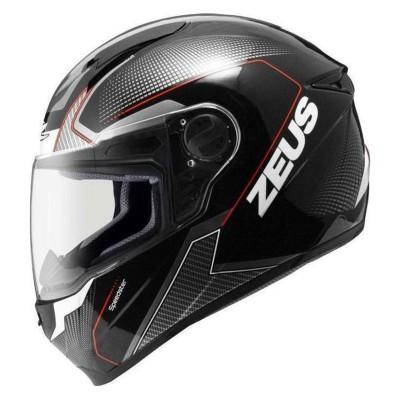 Κράνος L Μαύρο/Λευκό ZEUS ZS-811 AL6