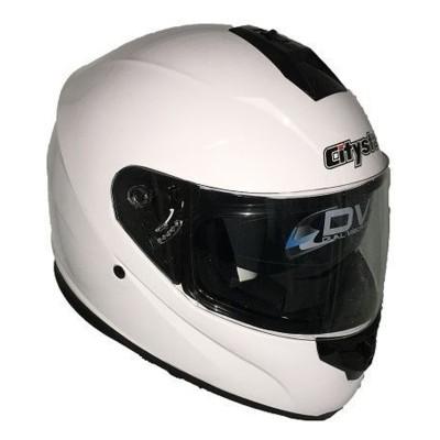 Κράνος L Λευκό CITYSTAR FF007
