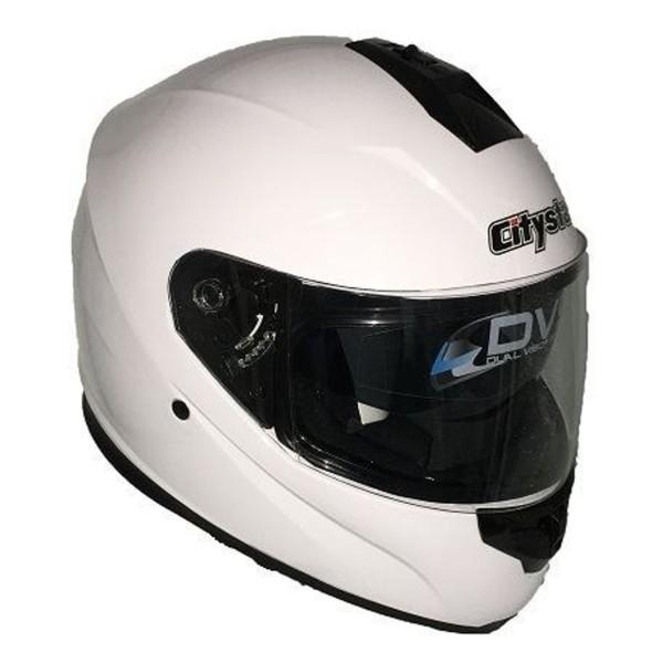 Κράνος M Λευκό CITYSTAR FF007