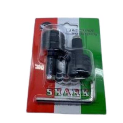 Αντίβαρα τιμονιού Μικρής διάμετρος SHARK Μαύρα