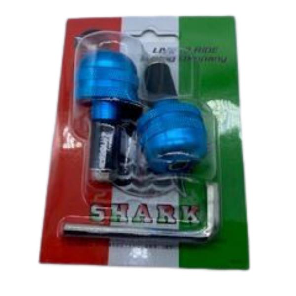 Αντίβαρα τιμονιού Μικρής διάμετρος SHARK Μπλε
