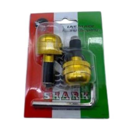 Αντίβαρα τιμονιού Μικρής διάμετρος SHARK Χρυσά