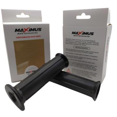 Χειρολαβές τιμονιού Ανοιχτές MAXIMUS Μαύρες MX119