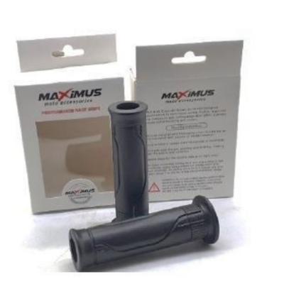 Χειρολαβές τιμονιού Ανοιχτές MAXIMUS Μαύρες MX178