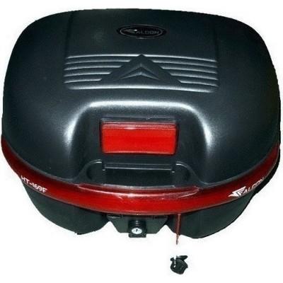 Μπαγκαζιέρα μοτοσυκλέτας FALCON Μαύρη 30 LT