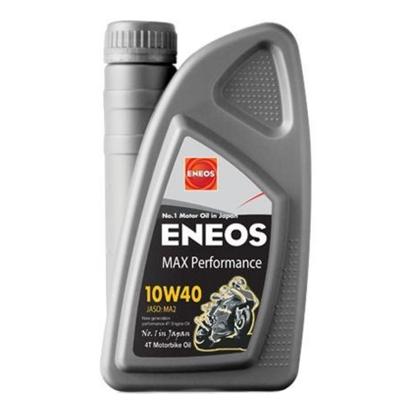 Λάδι 4T ENEOS MAX PERFORMANCE (SYNTHETIC 100%) 10W-40 1LT