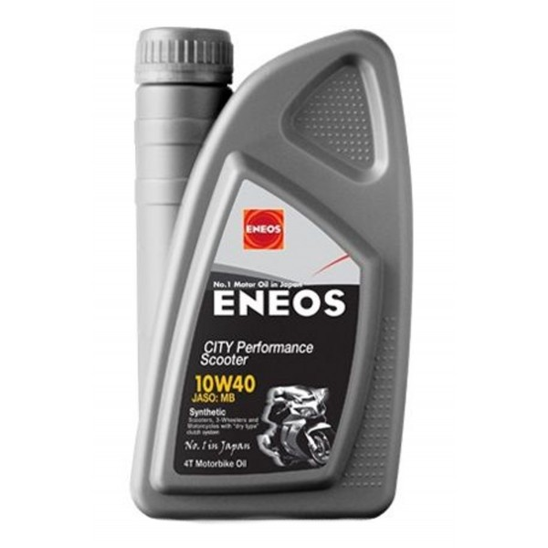 Λάδι ENEOS SCOOTER CITY PERFOMANCE (SYNTHETIC 100%) 10W-40 1LT