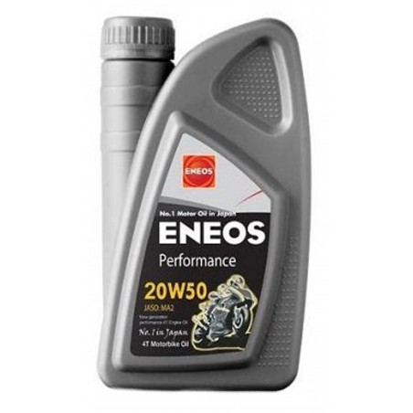 Λάδι ENEOS 4T MOTORCYCLE PERFORMANCE (ορυκτέλαιο) 20W-50 1LT