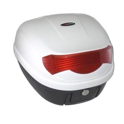 Μπαγκαζιέρα μοτοσυκλέτας XSPEED Λευκή 28 LT