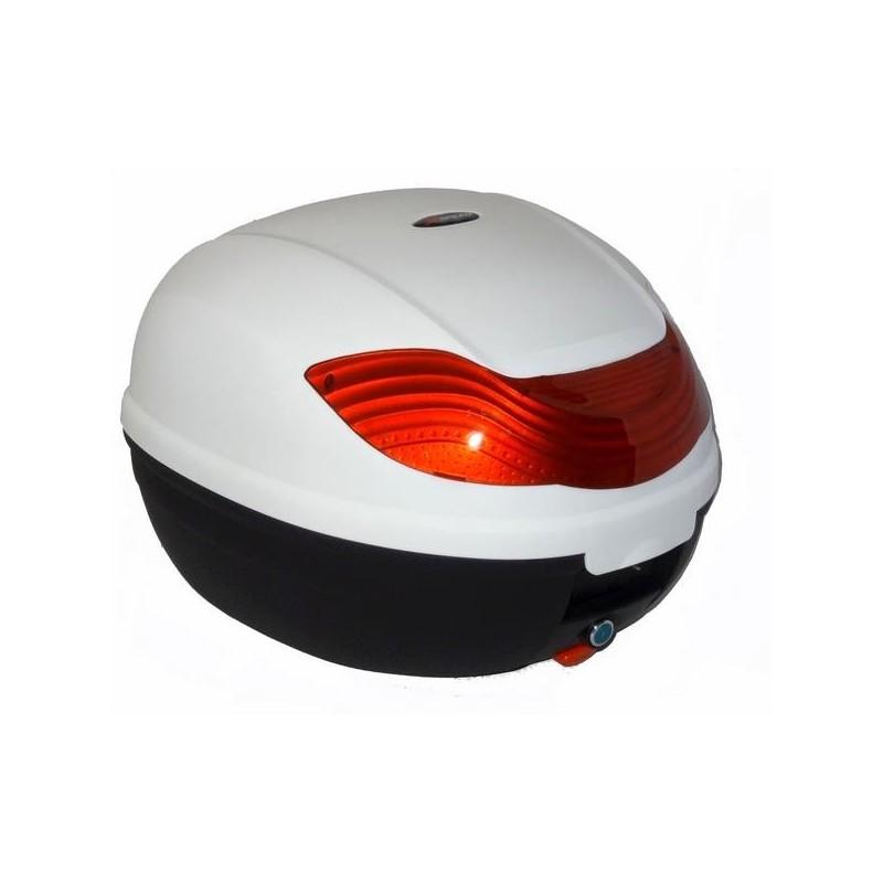 Μπαγκαζιέρα μοτοσυκλέτας XSPEED Λευκή 29 LT