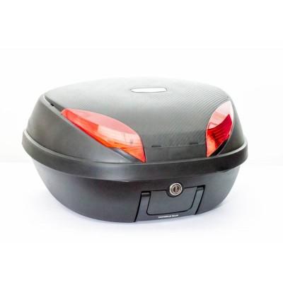 Μπαγκαζιέρα μοτοσυκλέτας TAIWAN Μαύρη Carbon 52 LT