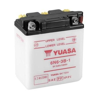 Μπαταριά  YUASA 6N6-3B-1