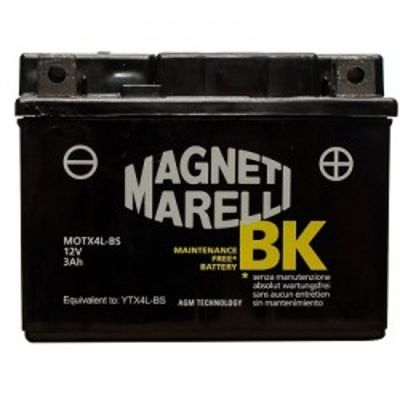 Μπαταριά με υγρά 3 Αh MAGNETI-MARELLI YTX4L-BS
