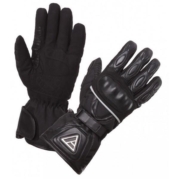 Γάντια χειμερινά μαύρα WINTER TOUR MODEKA
