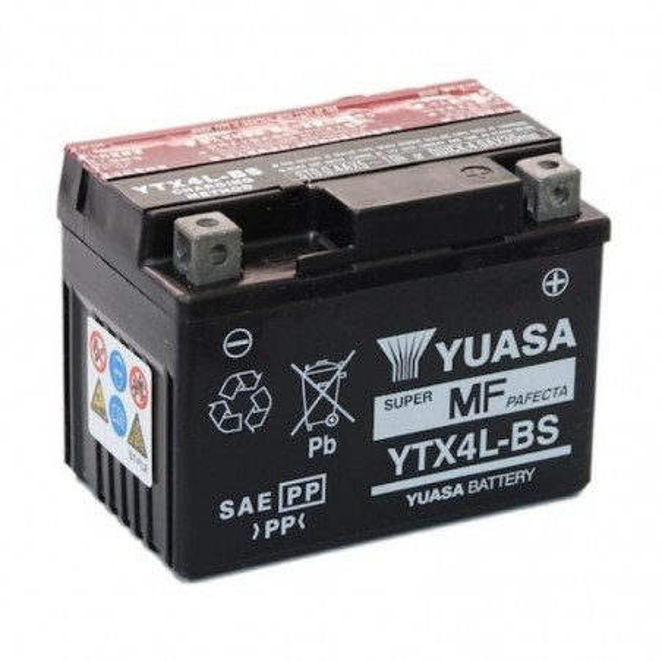 Μπαταριά YUASA YTX4L-BS