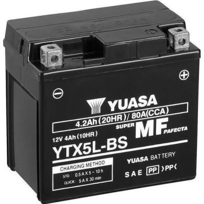 Μπαταριά με υγρά YUASA YTX5L-BS