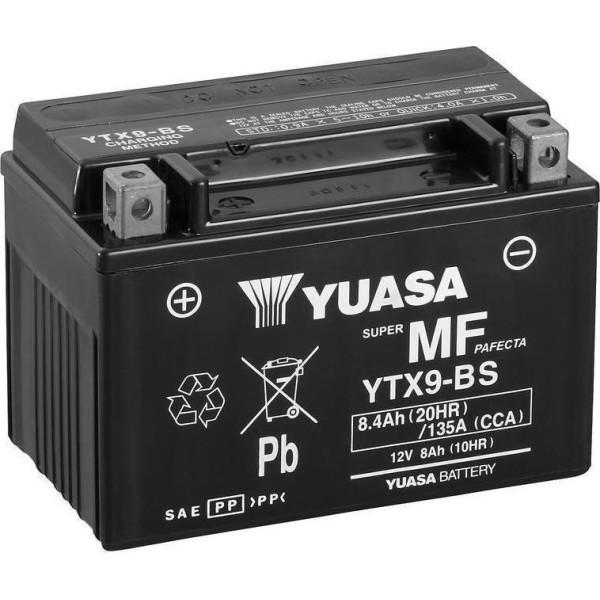 Μπαταριά με υγρά YUASA YTX9-BS
