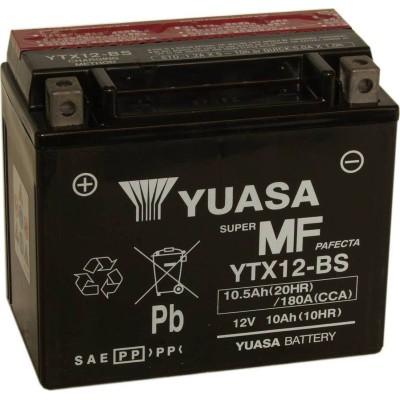 Μπαταριά με υγρά YUASA YTX12-BS