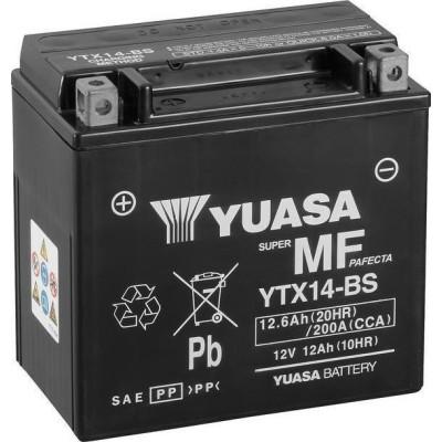 Μπαταριά YUASA YTX14-BS