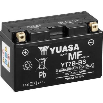 Μπαταριά YUASA YT7B-BS