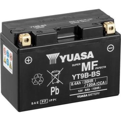 Μπαταριά με υγρά YUASA YT9B-BS