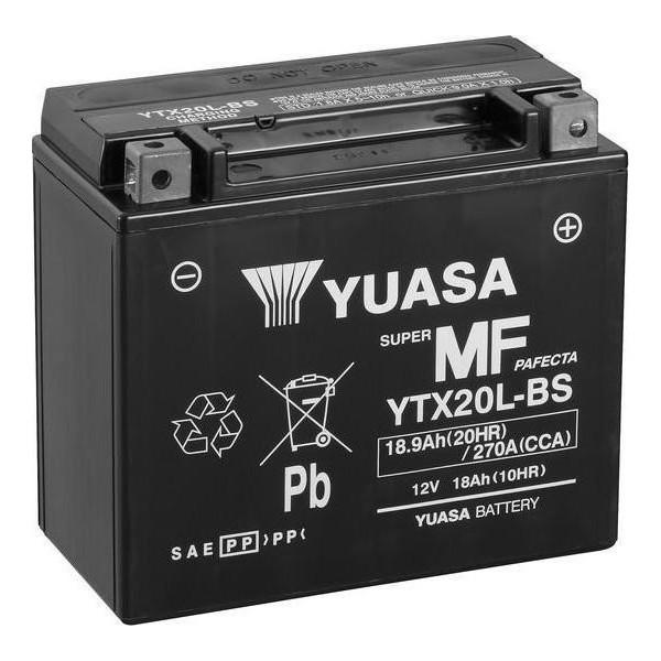 Μπαταρία με υγρά YUASA YTX20L-BS