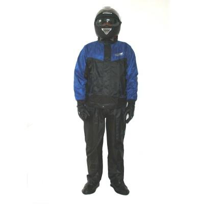Αδιάβροχο σετ Μαύρο/Μπλε NORD