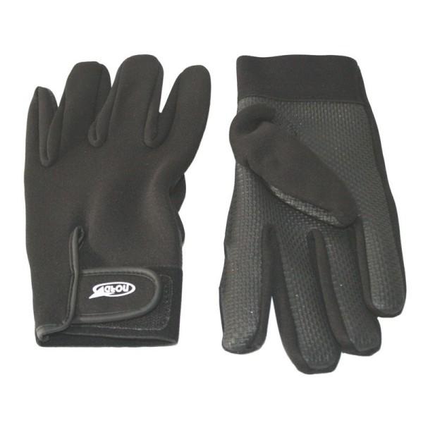 Γάντια καλοκαιρινά μαύρα NORD