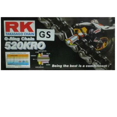 Αλυσίδα κίνησης χρυσή O-RING GS 520 KRO -114L RK