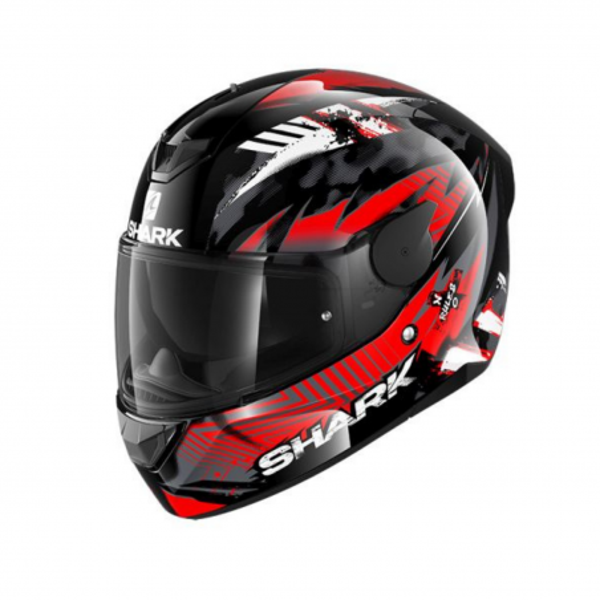Κράνος Μαύρο/Γκρι/Κόκκινο SHARK D-SKWAL 2 PENXA